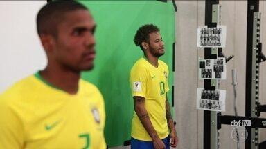 Jogadores do Brasil focam na parte física e tiram dúvidas sobre VAR - Jogadores do Brasil focam na parte física e tiram dúvidas sobre VAR.