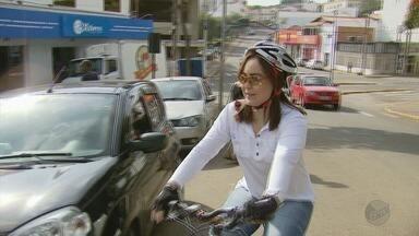 Moradores mudam hábito e passam a usar mais bicicletas após greve dos caminhoneiros - Moradores mudam hábito e passam a usar mais bicicletas após greve dos caminhoneiros