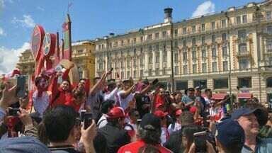'Tô na Rússia' mostra a expectativa de turistas da região para a Copa do Mundo 2018 - Luís Corvini está em Moscou e faz a cobertura da competição.