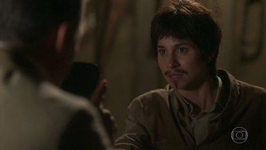 Brandão se aproxima cada vez mais de Mário - Mariana tenta tomar coragem para se revelar ao Coronel