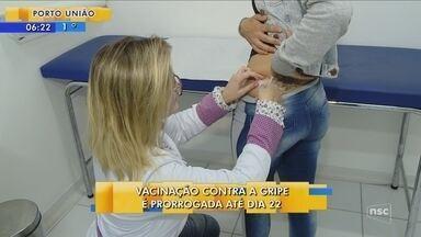 Ministério da Saúde prorroga vacinação contra a gripe até o dia 22 de junho - Ministério da Saúde prorroga vacinação contra a gripe até o dia 22 de junho