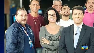 Sepultamento do corpo de Osvaldo Leite 'Surfista' em São Luís - Sepultamento do corpo de Osvaldo Leite 'Surfista' em São Luís. Diretor de TV trabalhou 28 anos no Grupo Mirante.