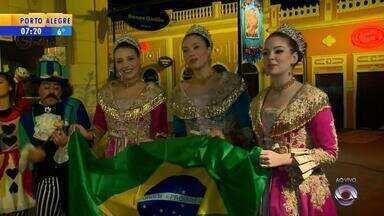 Jogos da Copa do Mundo alteram rotina de serviços no RS - Até Fenadoce, em Pelotas, já está no clima da Copa.