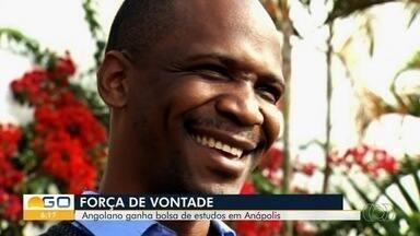 Angolano consegue bolsa de estudos no Brasil e realiza sonho de reconstruir escolas - Ele enfrentou uma guerra civil em seu país e viu unidades de ensino serem destruídas por bombas.
