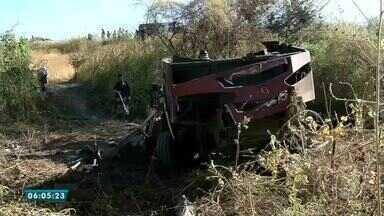 Carro-forte sofre ataque em Varjota, na região norte - Saiba mais em g1.com.br/ce