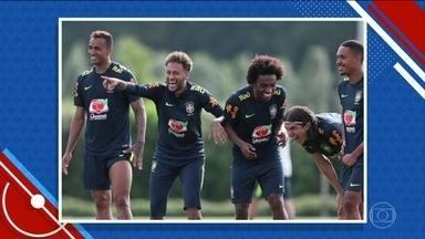 Seleção Brasileira tem entrosamento dentro e fora de campo - Seleção Brasileira tem entrosamento dentro e fora de campo