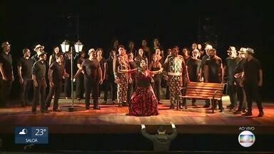 Teatro de Santa Isabel recebe estreia da ópera 'Carmen' - Esta é uma das óperas mais encenadas no repertório clássico mundial.