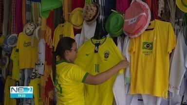 Pernambucanos se preparam para os jogos do Brasil na Copa do Mundo - Abertura do campeonato ocorreu nesta quinta (14)