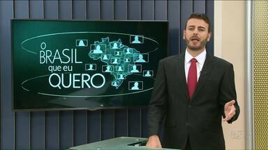 Moradores de Planaltina do Paraná podem dizer o que querem para o país - Veja as instruções de como gravar o seu vídeo.