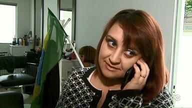 Conheça a russa que se casou com um brasileiro e vive em Londrina - Veja também a animação de crianças que vão acompanhar os jogos da Copa do Mundo na escola onde estudam.