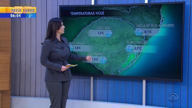 Tempo: sexta-feira (15) começa com temperaturas negativas no RS - Veja como fica a previsão.