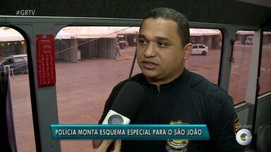 Policía monta esquema especial para São João de Petrolina - A festa começa nesta sexta (15).