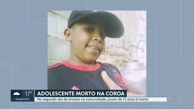 Adolescente morre em tiroteio no Morro da Coroa, no Catumbi - Jovem de 15 anos foi atingido no segundo dia seguido de tiroteio na comunidade