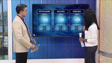 Sábado será de céu encoberto e chuva a qualquer momento no Sul do Rio - Inverno começa na quinta-feira (21) e cidades da região já sentem mudança climática.