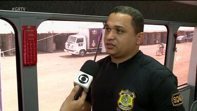 Pátio de Eventos conta com Delegacia Móvel durante o São João - O espaço foi montado pela Polícia Civil