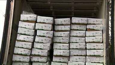 Polícia Civil prende quadrilha especializada em roubos de carne - Quinze toneladas de picanha foram roubadas em Santa Catarina e distribuída no Paraná.