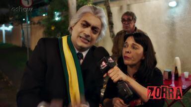 O brasileiro não liga pra Copa, eles disseram - Né, presidente?