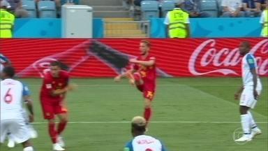 Bélgica vence estreante Panamá na Copa do Mundo - Bélgica vence estreante Panamá na Copa do Mundo