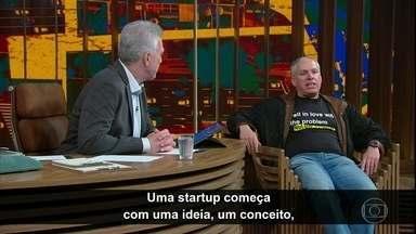 Uri Levine explica o que é uma startup - Ele também fala sobre empreendedorismo e explica como lidar com fracassos