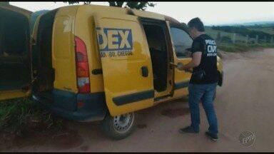 Carro de serviço do Sedex é roubado em Passos, MG - Carro de serviço do Sedex é roubado em Passos, MG