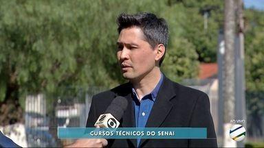 Quadro Hora do Trampo, em Dourados, fala de oportunidades no Senai - São 1.564 vagas para 15 cursos técnicos de nível médio.