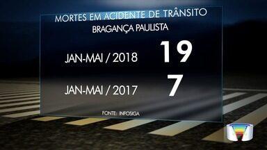 Número de mortes no trânsito quase dobrou neste ano - Informação é do Infosiga.