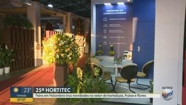 Hortitec: Feira em Holambra tem as novidades para o setor de hortaliças, frutas e flores - É a 25ª edição do evento que ocorre no interior paulista.