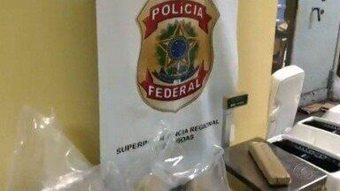 PF apreende mais de 100 kg de maconha escondidas em caixas de som - Repórter Carolina Sanches explica ao vivo como ocorreu essa ação policial.