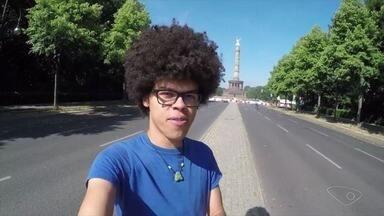 Capixaba mostra como os alemães curtem a Copa do Mundo - Ramon Luiz está morando na Alemanha e fez imagens para o Bom Dia ES.