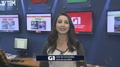 Mayara Corrêa traz os destaques do G1 Sorocaba e Jundiaí desta quinta-feira - A repórter Mayara Corrêa traz os destaques do G1 Sorocaba e Jundiaí desta quinta-feira (21).