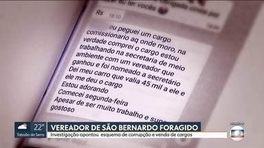Justiça manda prender o vereador de São Bernardo do Campo, Mario de Abreu Filho - Ele foi denunciado pelo Ministério Público por corrupção na Secretaria de Gestão Ambiental na época em que o vereador ocupava o cargo de secretário.