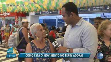 São João 2018: sistema ferry boat opera com sete embarcações durante os festejos - Confira os detalhes sobre a operação de São João.
