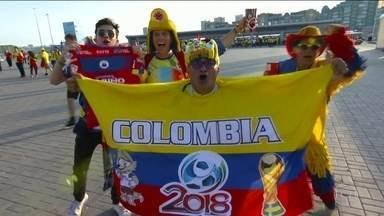 Colômbia vence Polônia por 3 a 0 e agora precisa de vitória contra o Senegal - Apesar de goleada, time do craque James Rodriguez está em terceiro na classificação de seu grupo e está pressionado.