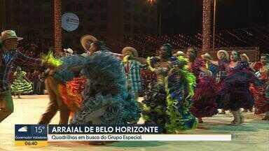Arraial de Belo Horizonte movimenta Praça da Estação, no Centro da capital mineira - Evento está na 40ª edição e mantém tradições juninas.