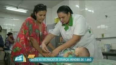 Aumenta o número de crianças menores de um ano que não são vacinadas no ES - Profissionais da área da saúde alertam para a importância das vacinas.