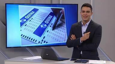Bolão comprado em Vila Velha leva R$ 20 milhões na Quina de São João - Outras cinco apostas, de outros estados, também dividiram o prêmio total de R$ 125 milhões. As dezenas foram: 03 - 29 - 33 - 53 - 69.
