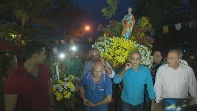 Dia de São Pedro é celebrado com procissão, missa e comidas típicas em Boa Vista - Pelo segundo ano seguido a procissão não foi realizada no Rio Branco por medidas de segurança.