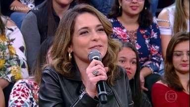 Cláudia Abreu conta que tinha aversão a redes sociais - Hoje em dia ela mantém um perfil oficial