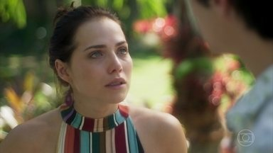 Rosa termina o namoro com Valentim - Laureta castiga Galdino por ter ajudado Karola a separar os dois