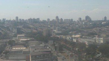 Campinas tem máxima de 25ºC com sol, poucas nuvens e sem chuva - Confira a previsão do tempo para as outras cidades da região.