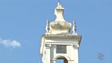 Catedral de Corumbá recebe recurso estadual para restauração - A verba é para iluminação e parte elétrica do prédio.