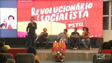 PSTU lança em São Luís a pré-candidatura de Ramon Zapata - Na noite de quarta-feira (04), o PSTU lançou em São Luís a pré-candidatura de Ramon Zapata ao Governo do Estado.