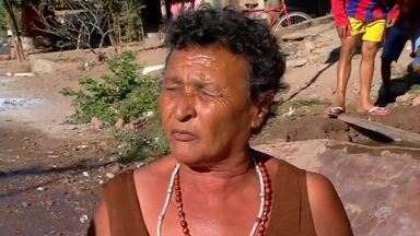 Bairro sofre com falta de água em Juazeiro do Norte - Saiba mais em g1.com.br/ce