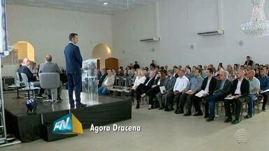 Governador Márcio França participa do 'Agora Dracena' - Evento discute alternativas para o desenvolvimento do Oeste Paulista.