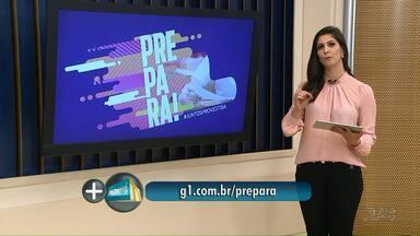 """Saiba como se inscrever no """"Aulão Prepara"""" da RPC Ponta Grossa - O aulão é de graça, inscrições no aplicativo """"VC na RPC"""" e também pelo site g1.com.br/prepara."""