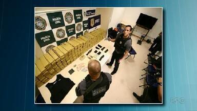 Polícia do Rio de Janeiro investiga quadrilha de traficantes que atuava em Foz do Iguaçu - A quadrilha escondia armas de fogo dentro de aparelhos de televisão.