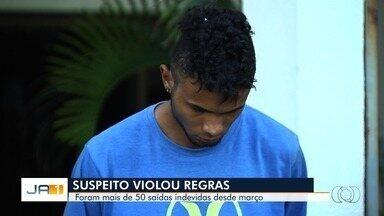 Suspeito de matar estudante é preso do semiaberto e desrespeitou ordem de não sair à noite - Ele e um comparsa cometeram o assalto que terminou com a morte de Renan Gouveia, na frente da namorada da vítima.