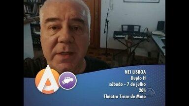 Nei Lisboa faz show em Santa Maria - Nei Lisboa comemora o aniversário de dois álbuns.
