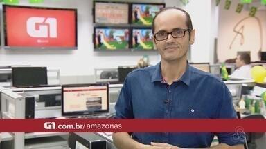 Confira os destaques do G1 Amazonas para quinta (5) - Veja as informações com Leandro Tapajós.