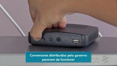 Usuários reclamam de funcionamento do conversor digital do Governo em MS - Eles alegaram que aparelhou parou de funcionar depois de um tempo.